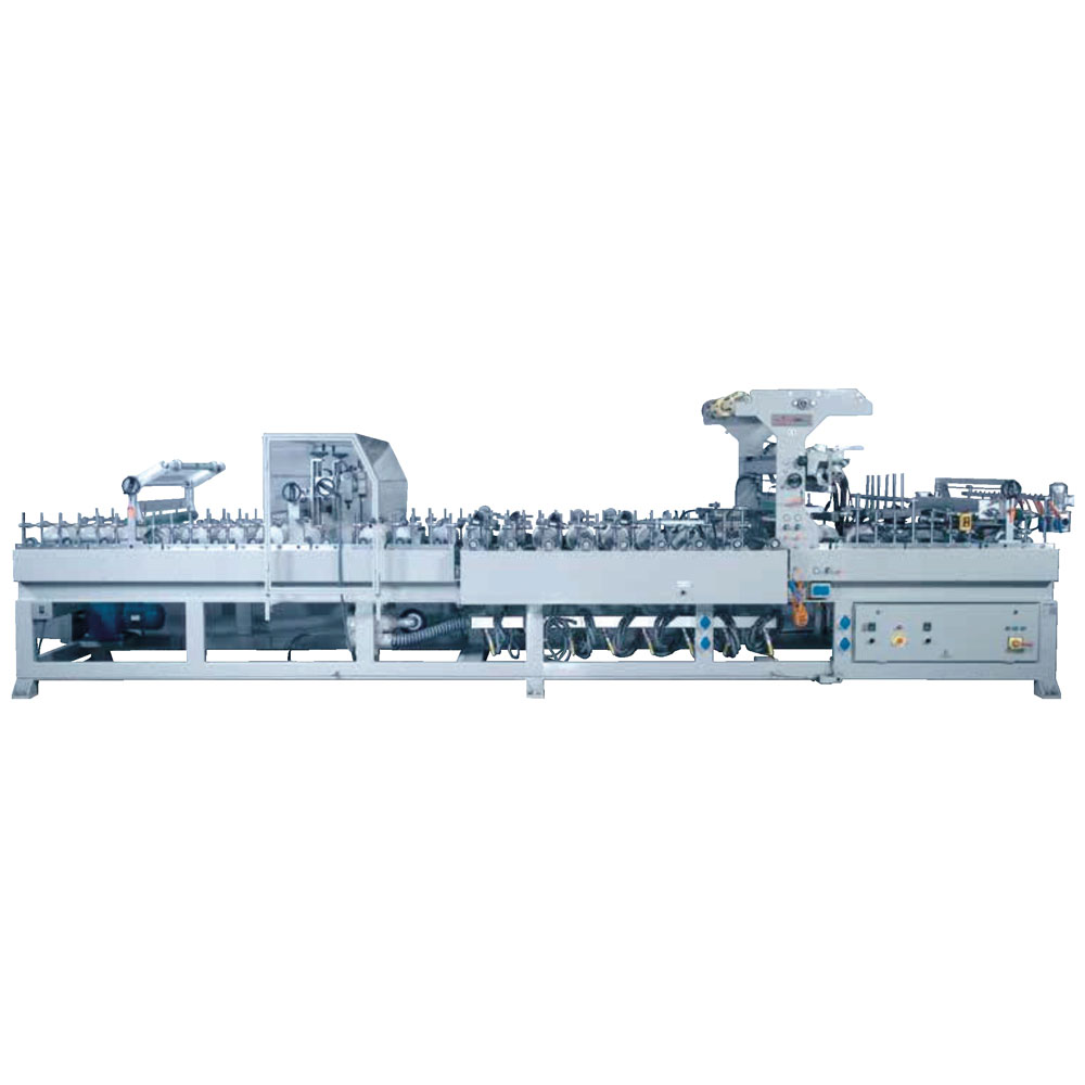 PUR HOTMELT PANEL WRAPPING MACHINE