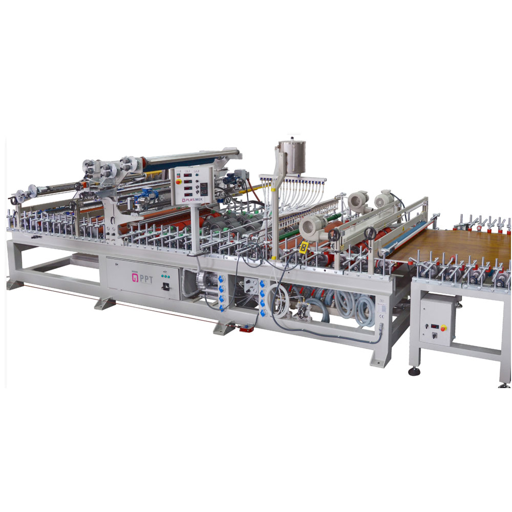 PUR HOTMELT GLUE PANEL WRAPPING MACHINE