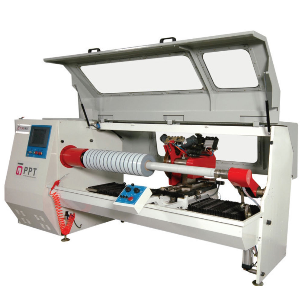 CHIPLESS CUTTING MACHINE FOR PROTECTION FOIL